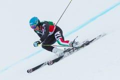 DE ALIPRANDINI Luca (ITA). Alta Badia, ITALY 22 December 2013. DE ALIPRANDINI Luca (ITA) competing in the Audi FIS Alpine Skiing World Cup MEN'S GIANT SLALOM Royalty Free Stock Photography