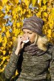 De allergie van het seizoen Stock Foto's