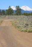De Alluviale gebieden van het Reservoir van Tumalo Stock Afbeeldingen