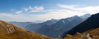 De alpen Royalty-vrije Stock Afbeeldingen