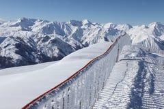 De alpen, 3 valleien Royalty-vrije Stock Fotografie