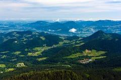 De Alpen Royalty-vrije Stock Foto