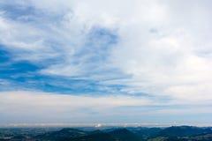 De alpen Stock Afbeelding