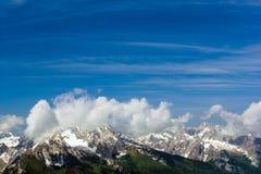 De Alpen Stock Afbeeldingen