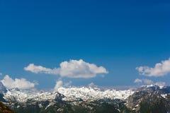 De alpen Royalty-vrije Stock Fotografie