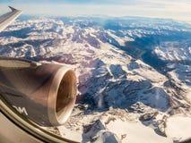 De alpen in Oostenrijk Stock Afbeeldingen