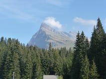 De Alpen van Bella Italy worden gezien die Stock Afbeeldingen