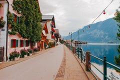 De Alpen van Hallstatoostenrijk Stock Foto