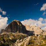 De alpen van het dolomiet dichtbij cortina royalty-vrije stock foto's
