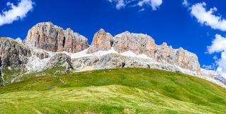 De Alpen van het dolomiet, Italië Royalty-vrije Stock Foto
