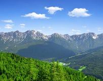 De Alpen van Italië royalty-vrije stock afbeeldingen