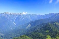 De Alpen van Japan Stock Fotografie