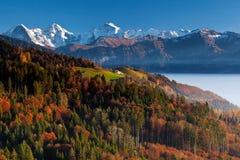 De Alpen van kleuren Royalty-vrije Stock Foto's