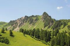 De Alpen van Lichtenstein Stock Afbeeldingen