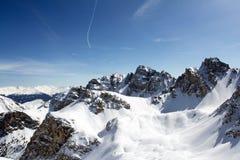 De Alpen van Oostenrijk Royalty-vrije Stock Afbeeldingen