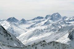 De Alpen van Oostenrijk Royalty-vrije Stock Afbeelding
