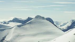 De Alpen van West-Noorwegen stock videobeelden
