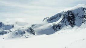 De Alpen van West-Noorwegen stock footage