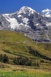 De alpen van Zwitserland Royalty-vrije Stock Afbeelding