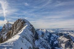 De Alpen van Zwitserland Stock Foto
