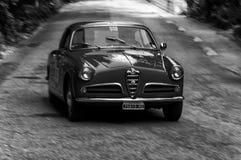 DE ALPHA- SPRINT 1956 VAN ROMEO GIULIETTA Stock Afbeelding