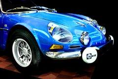 De alpiene raceauto van Renault A 110 Royalty-vrije Stock Foto's