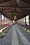 De Alpini-brug Royalty-vrije Stock Afbeeldingen