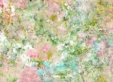 De alta calidad Pintura abstracta moderna de la tinta del alcohol, arte contemporáneo de los detalles imagenes de archivo