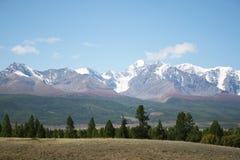 De Altai glaciärerna Royaltyfri Bild
