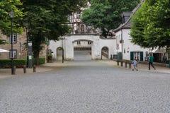 De Altenberger Domna i det Bergisches landet fotografering för bildbyråer
