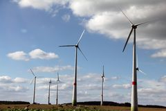 De alternatieve energie royalty-vrije stock afbeelding
