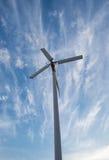De alternatieve schone energie van de windturbine Stock Fotografie