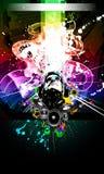 De alternatieve Vlieger van de Muziek Discoteque Stock Afbeelding