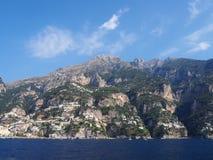 De Amalfi Kust Stock Foto's