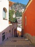 De Amalfi Kust Royalty-vrije Stock Afbeeldingen