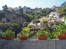 De Amalfi Kust Royalty-vrije Stock Afbeelding