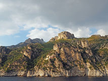 De Amalfi Kust Royalty-vrije Stock Foto