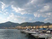 De Amalfi Kust Stock Afbeelding