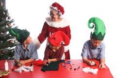 De Ambachten van Kerstmis Stock Afbeeldingen