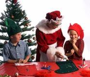 De Ambachten van Kerstmis Royalty-vrije Stock Fotografie