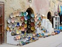 De ambachten van Marokko royalty-vrije stock afbeeldingen