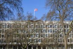 De Ambassade van de V.S. in Londen Stock Afbeeldingen
