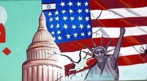 De Ambassade van de V.S. in Teheran stock afbeeldingen