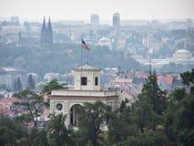 De ambassade van de V.S., Praag, Czechia Royalty-vrije Stock Afbeelding