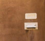 De Ambassadebrievenbus van Vatikaan in het Heilige Land Jaffa Royalty-vrije Stock Fotografie