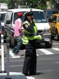 De Ambtenaar van de Afdeling van de Politie van New York stock foto's