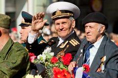 De ambtenaar van de marine Stock Fotografie