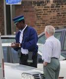 De ambtenaar van de parkerendiensten royalty-vrije stock foto's