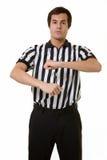 De ambtenaar van het basketbal Stock Fotografie