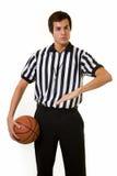 De ambtenaar van het basketbal stock afbeeldingen